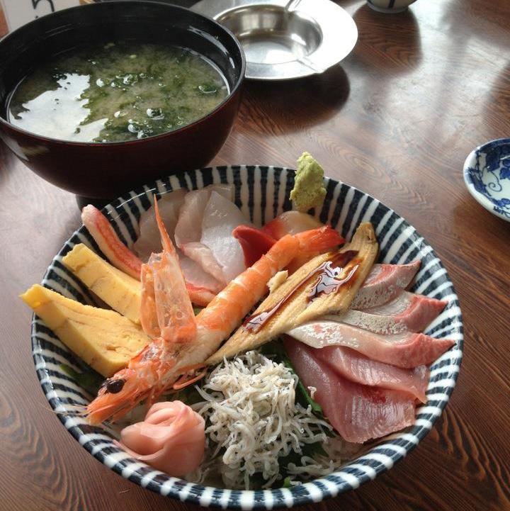 seefood rice bowl
