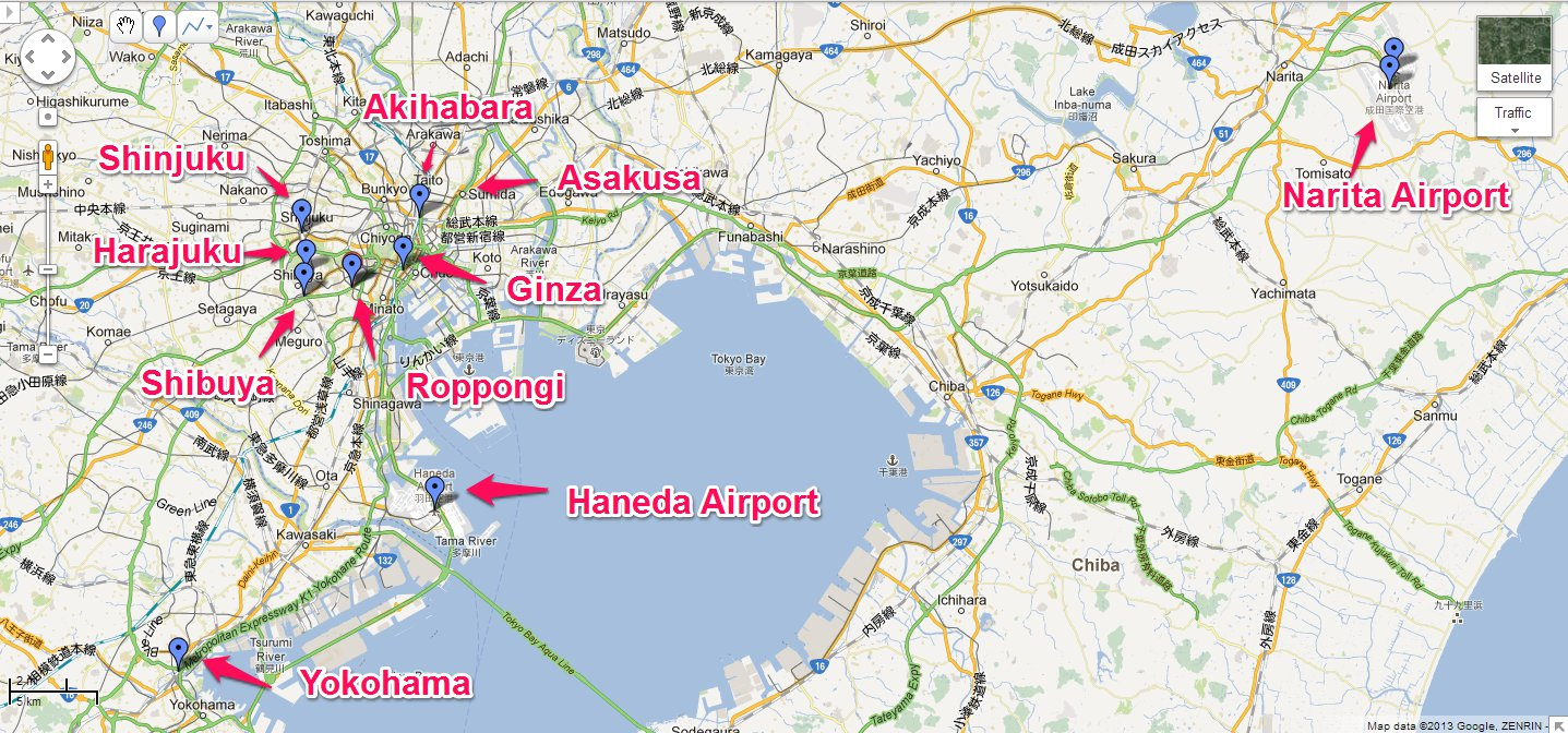 how to travel from narita to haneda