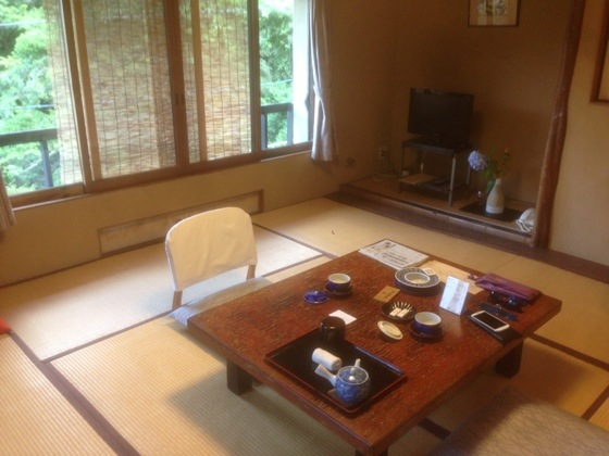 A Room In A Japanese Traditional Ryokan Hotel
