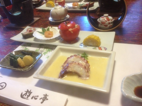 Starters Of Japanese Dinner Full Course