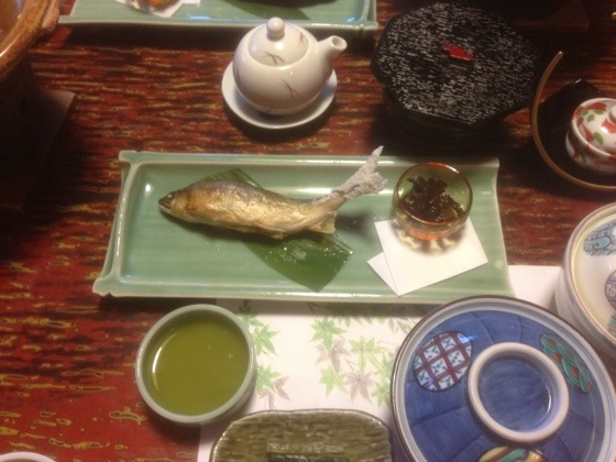 Ayu, Sweetfish, A Kind Of Freshwater Fish, Before Main Meat Dish
