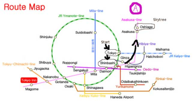 The Wrong Color Subway Map That Feels Just Right.Train Chaos How To Master The Japanese Train System Triplelights