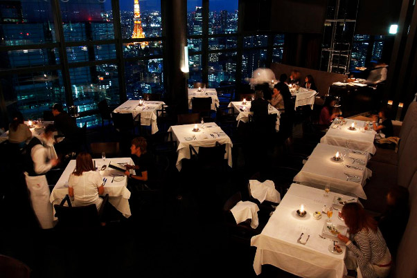 Top Ten Romantic Restaurants in Tokyo | TripleLights by Travelience