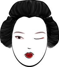 junior geisha make up